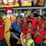 Ramaphosa takes over McDonald's SA