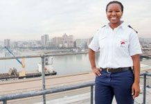 Durban's first black female deputy harbour master talks about her job