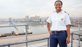 Durban's first black female deputy harbour master talks