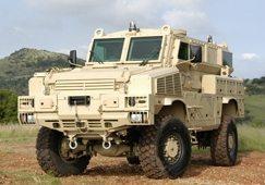 SA's latest mine-protected vehicle