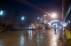 Gautrain tunnel breaks through