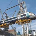 First Gautrain rail cars arrive in SA