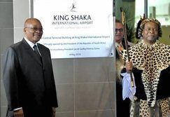 Airport sets new standards: Zuma