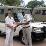 Safari vehicles boost tour guide project