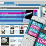 Nokia's South African online music store