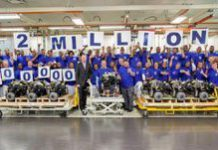 VW South Africa produces 2-millionth engine