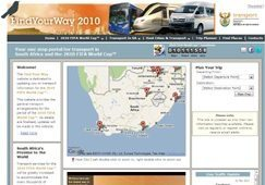 World Cup South Africa: find your way