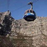 Tourists flock up Table Mountain