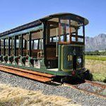 Taking the Franschhoek Wine Tram