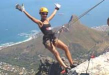Abseiling & rapp jumping in SA