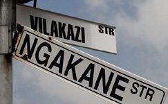 The street where Mandela and Tutu lived