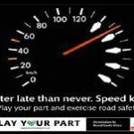 Easter road safety dos and don'ts