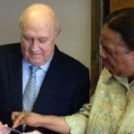 FW de Klerk receives his smart card ID