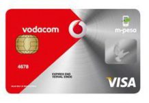 SA's Vodacom offers m-pesa card