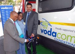 Vodacom helps blood service go mobile