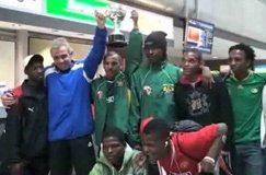 Video: Homeless Team SA returns