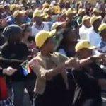 South Africa's Diski Dance 'flash mobs'