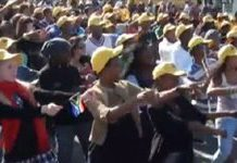 South Africa's Diski Dance 'flash mobs'