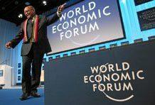 Showcasing South Africa at Davos