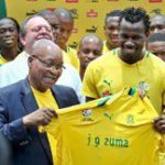 Zuma wishes Bafana well for Afcon