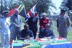 Honouring black dead in Boer War