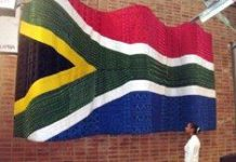 Constitutional Court flies the flag