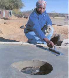 Women lead in sanitation project