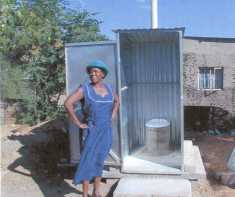 Women lead in sanitation project