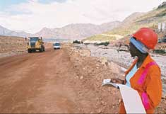 Berg dam nears completion