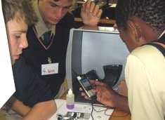 The cellphone as learning tool