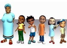 African animated series for US