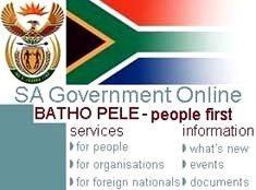 SA govt's 'people first' portal