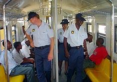 SA's police ahead of target