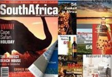 South Africa mag hits UK shelves