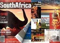 South Africa mag hits UK shelves