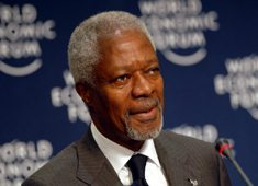 Annan to promote African farmers