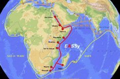 EASSy undersea cable on track