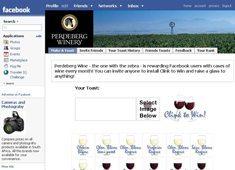 'Toast' with SA wine on Facebook