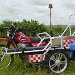 Biking help to remote communities