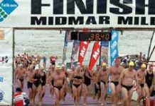 Two thumbs up for Midmar Mile