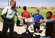 Charlton Athletic's SA connection