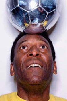 Pele offers SA football advice