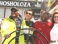 Icons Tutu and Shosholoza meet