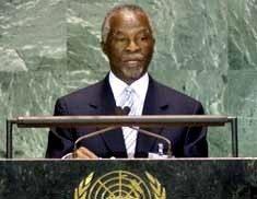 UN is failing the poor: Mbeki