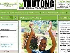 Thutong: SA's education portal