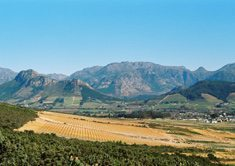 Franschhoek: new hope for land