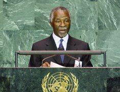 Mbeki slams UN lack of progress