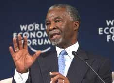 Mbeki outlines growth priorities