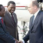Zuma shares moment with Prince Albert