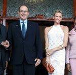 Monaco royal couple meets with Zuma